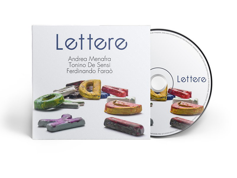 Lettere - cd musicale di Andrea Menafra