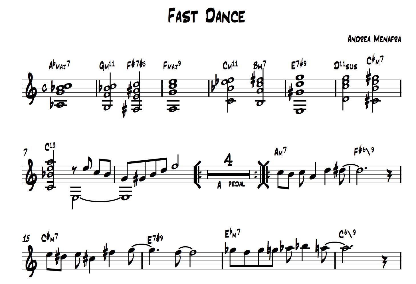 Fast Dance di Andrea Menafra