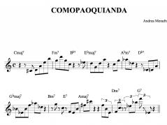 Comopaoquianda tratto dal CD Duodegradabile di Andrea Menafra